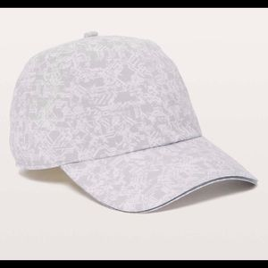 NWT LuluLemon Baller Running Hat - Grey & White